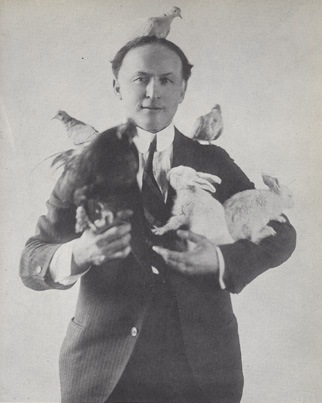 Houdini with animals